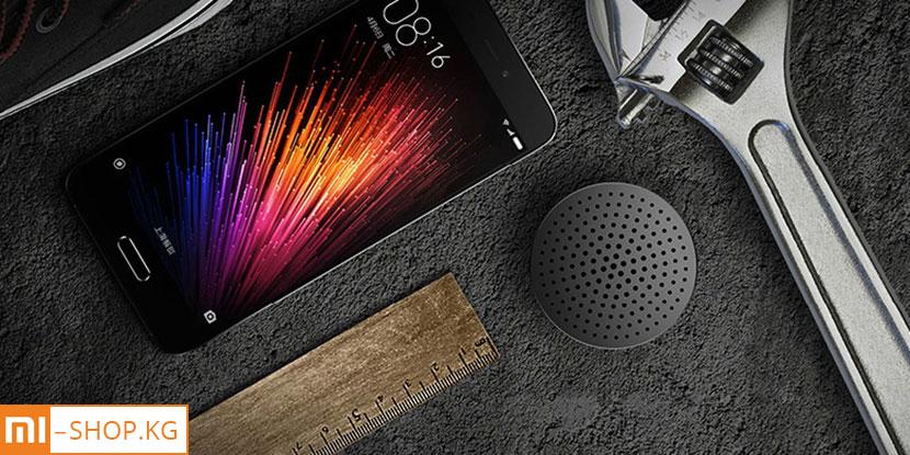 Колонка Xiaomi Mi Cannon Bluetooth Speaker (черный)