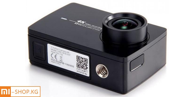Экшн-камера Xiaomi Yi 4k (черный)