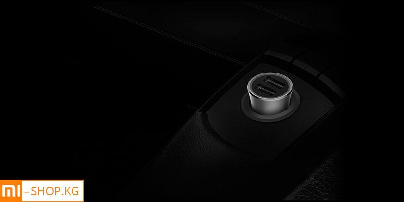 Автомобильная зарядка Xiaomi Mi Car Charger QC 3.0 18W (CC05ZM)