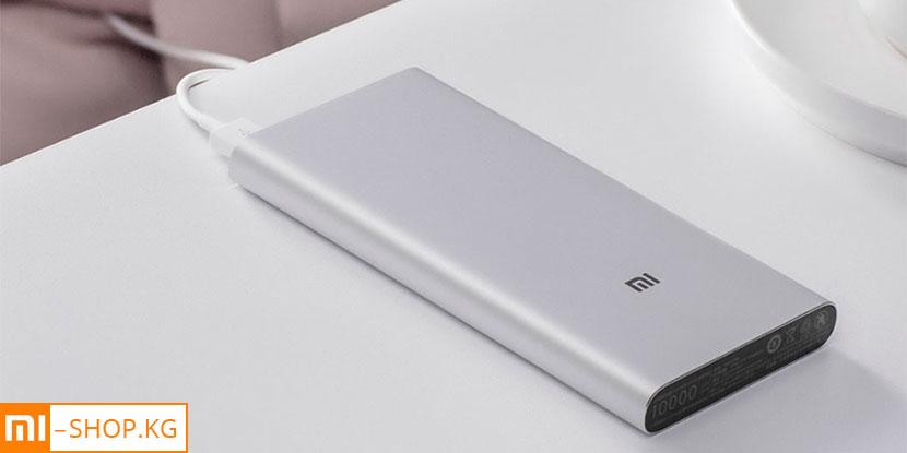 Xiaomi Mi Power Bank 3 10000 mAh USB-C (PLM12ZM) (чёрный)