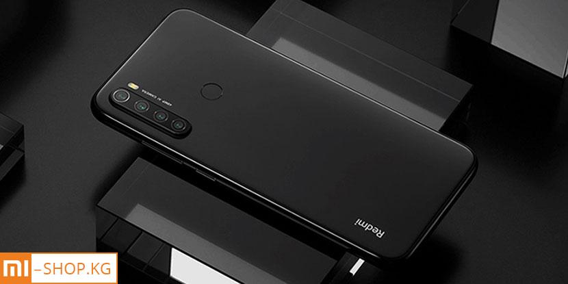 Xiaomi Redmi Note 8 (2021) 4+64Gb (чёрный / Space Black)