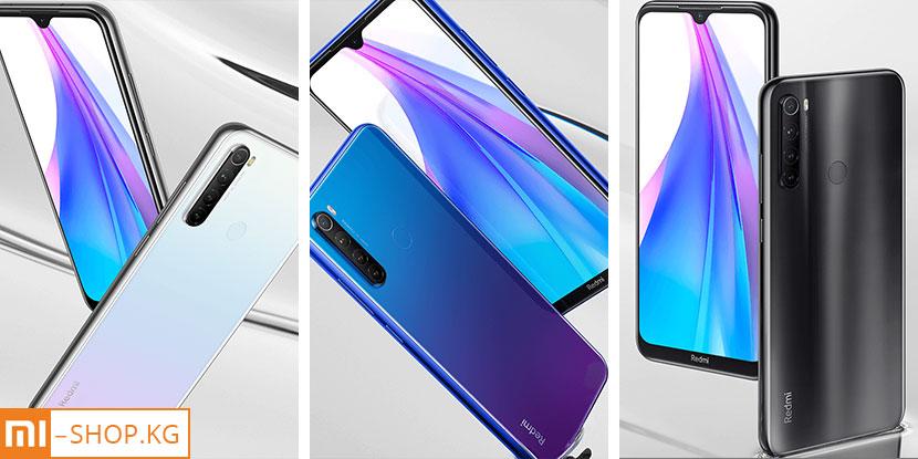 Xiaomi Redmi Note 8T 4+64Gb (синий / Starscape Blue)