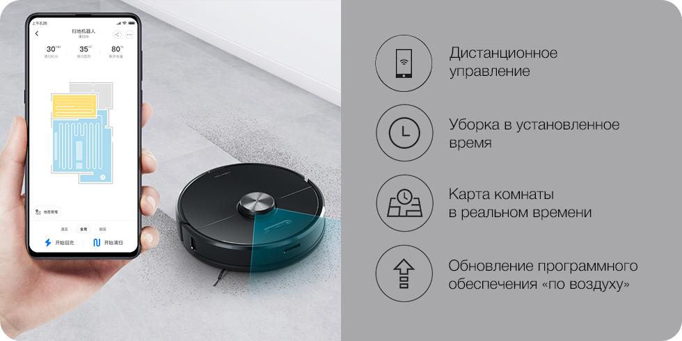 Робот-пылесос Roborock S6 Smart Sweeping Vacuum Cleaner (S602-00)
