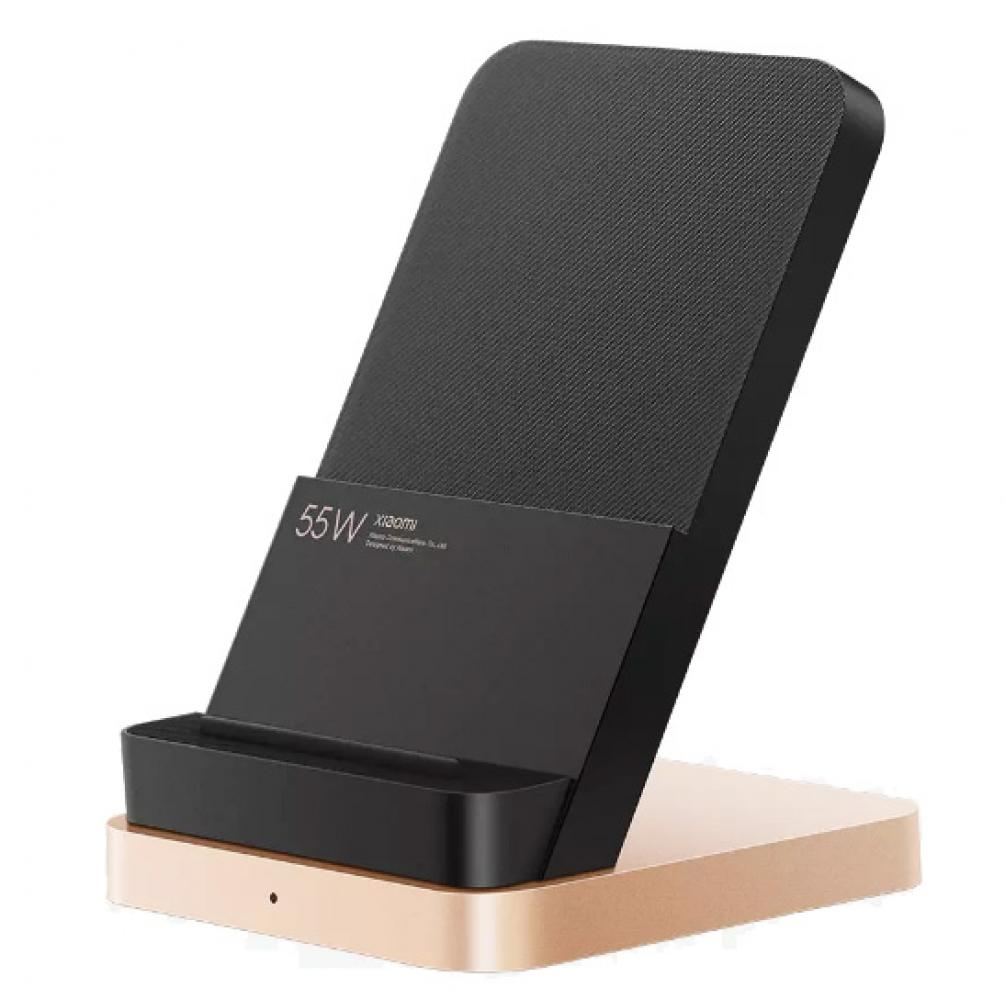 Беспроводное зарядное устройство Xiaomi Mi Vertical Wireless Charger Stand 55W (MDY-12-EN)