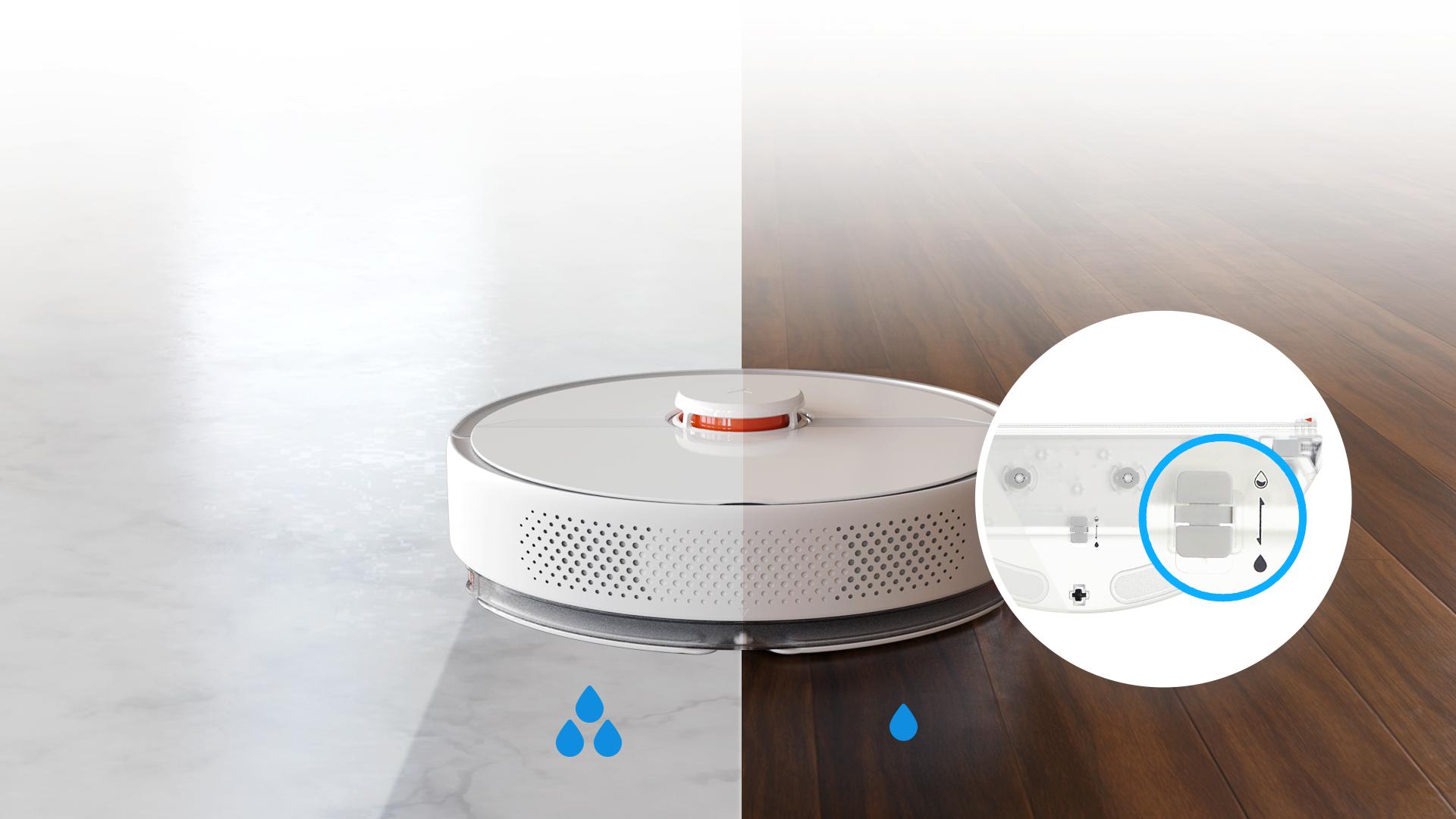 Робот-пылесос Roborock S6 Pure Smart Sweeping Vacuum Cleaner (S6P02-00)
