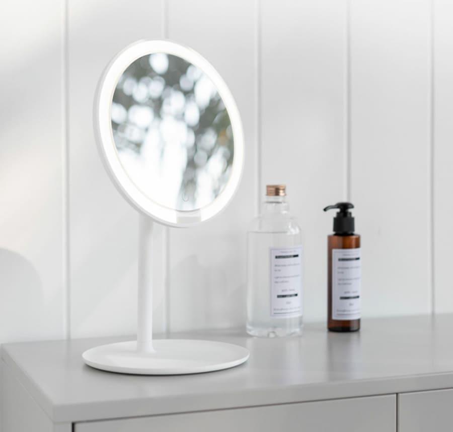 Зеркало для макияжа Xiaomi Mijia LED Makeup Mirror (MJHZJ01-ZJ)