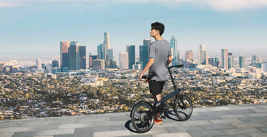 Электровелосипед Xiaomi QiCycle Electric Bike New National (TDP02Z)