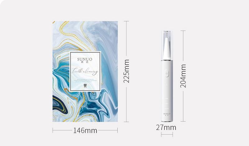 Скалер для удаления зубного камня Xiaomi Sunuo Smart Visual Ultrasonic Dental Scale T11 Pro